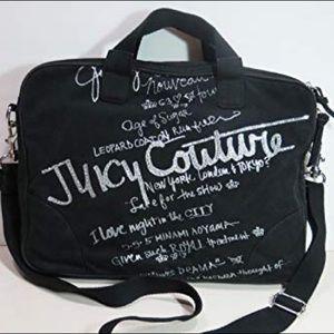 Juicy Couture Old School Scottie Bling Laptop Case